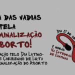 Marcha das Vadias de Campinas é sábado, dia 27