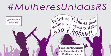 Governador quer acabar com a Secretaria de Mulheres no Rio Grande do Sul
