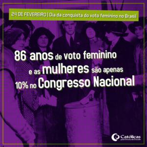 meme-24 de fevereiro-Dia da Conquista do Voto Feminino no Brasil