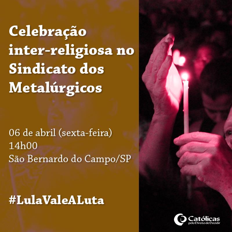 meme-Ato interreligioso SBC Lula